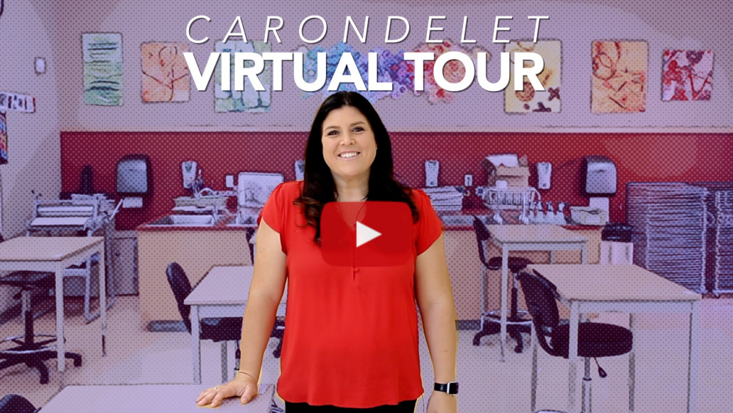 Director of Enrollment, Jessica Mix '99 guides a video tour of our school.
