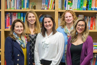 College & Career Staff: Liz Paz-Rumore, JD; Allison Bly; Ginger Jessop; Lisa Sciacca; and Mic...